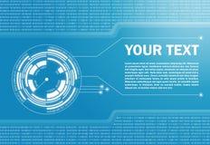 Hi-tech abstracte achtergrond Stock Afbeeldingen