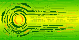 Hi-tech background Stock Image