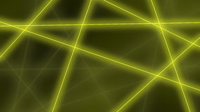 Hi-tech background. Abstract yellow lines crossings. 3D rendering Royalty Free Stock Photo