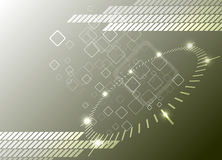 Hi-tech background. Vector Illustration Stock Photo