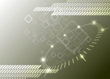 Hi-tech background. Vector Illustration Stock Photo