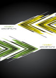 Hi-tech background. Vector illustration Stock Images