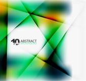 Hi-tech of bedrijfs futuristisch vaag malplaatje vector illustratie