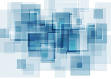 Hi-tech blue abstract background Stock Images