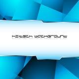 Hi-tech blue background. Clip-art Stock Image