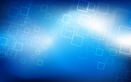 Hi-tech blue background. Vector. Clip-art Royalty Free Stock Images