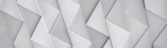 Hi-Tech Brede Aluminiumachtergrond & x28; Plaats Head& x29; - 3D Illustratie Royalty-vrije Stock Afbeelding