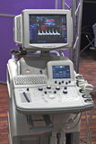 Hi-tech cardic monitor Royalty Free Stock Photo