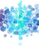 Hi-tech Christmas background royalty free illustration