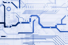 Hi Tech Circuit Board Stock Images
