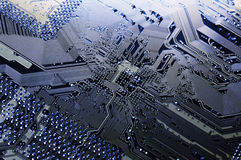 Hi-tech circuitboard royalty free stock photography