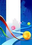 Hi Tech.  Cover Design Stock Photography