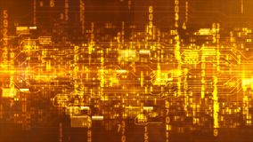Hi tech digital abstract background Stock Image