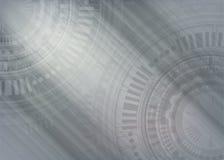 Technology Background high computer technology. Hi-tech digital technology. Vector abstract metallic illustration gear wheel engineering telecoms futuristic Royalty Free Stock Image