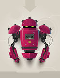 Hi Tech Futuristic Robot 02 Royalty Free Stock Photo