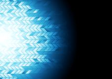 Hi-tech geometric dark blue background Royalty Free Stock Photography