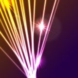 Hi-tech glowing neon laser rays abstract background. Vector illustration vector illustration