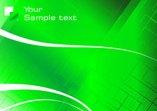 Hi-tech green background Stock Images