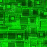 Hi tech green background Stock Image