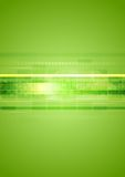 Hi-tech groene abstracte achtergrond Royalty-vrije Stock Fotografie
