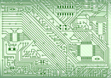 Hi-tech industrial electronic background Royalty Free Stock Photos