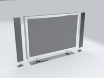 Hi-Tech Plasma Screen Stock Photography