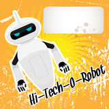 Hi-tech robot. Vector illustration Stock Images