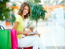 Hi-tech shopping Royalty Free Stock Image