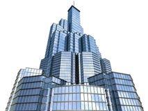 Hi-tech skyscraper Stock Photos