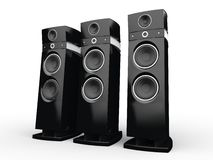 Hi-tech speakers Royalty Free Stock Images