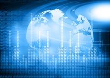 Hi-tech technological background Stock Photos
