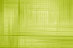 Hi-tech template. Green square abstract hi-tech template Royalty Free Stock Photo