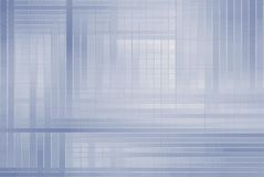 Hi-tech template. Square abstract blue hi-tech template Royalty Free Stock Photography