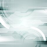 Hi-tech vector abstract background Stock Photography