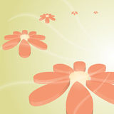 Hi-tech vector beautiful flower Royalty Free Stock Image