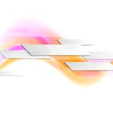 Hi-tech wavy motion background Royalty Free Stock Image
