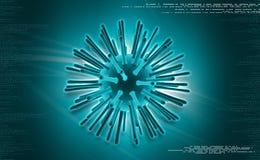 Hi virus Stock Image