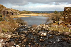 Hiaat van Dunloe, Killarney, Kerry, Ierland Stock Afbeeldingen