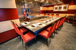 Hibachi Dining Stock Images