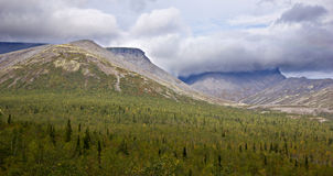 Hibiny berg Arkivfoton