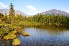 Hibiny berg Fotografering för Bildbyråer