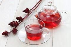 Hibiscus τσάι Στοκ Φωτογραφία