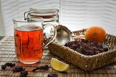 Hibiscus τσάι Στοκ φωτογραφίες με δικαίωμα ελεύθερης χρήσης