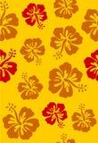 Hibiscus. Seamless hibiscus Stock Photos