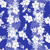 Hibiscus flower pattern Royalty Free Stock Photo