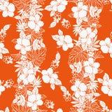 Hibiscus flower pattern Royalty Free Stock Photos