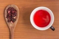 Hibiscus flower Tea Stock Photography
