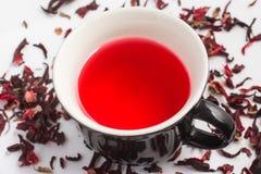 Hibiscus flower Tea Stock Photo