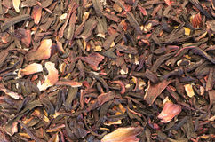 hibiscus herbal tea dried petals Royalty Free Stock Photography