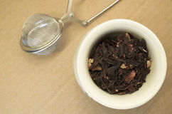 hibiscus herbal tea dried petals Royalty Free Stock Photo